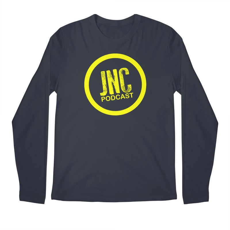 Jams 'N' Cocktails Podcast Men's Longsleeve T-Shirt by Brad Brock Official Merch