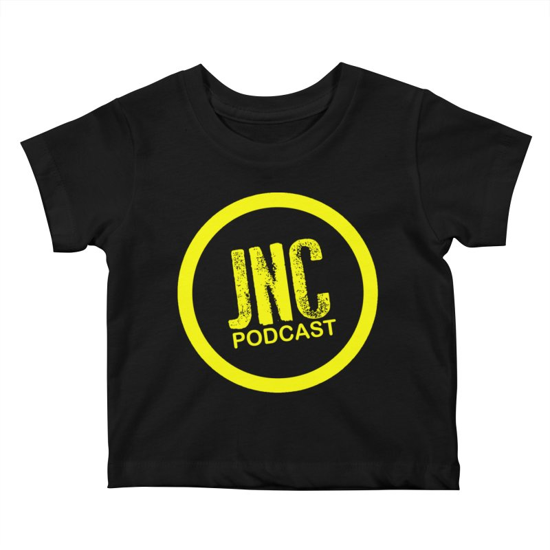 Jams 'N' Cocktails Podcast Kids Baby T-Shirt by Brad Brock Official Merch