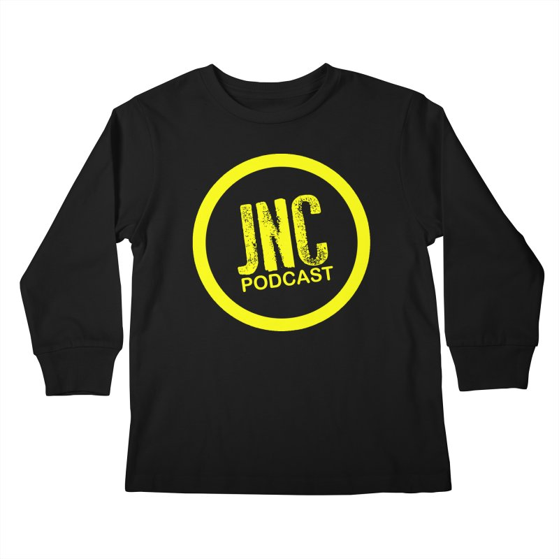 Jams 'N' Cocktails Podcast Kids Longsleeve T-Shirt by Brad Brock Official Merch