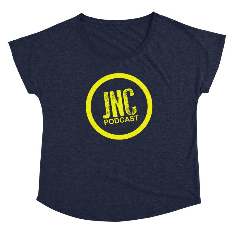 Jams 'N' Cocktails Podcast Women's Scoop Neck by Brad Brock Official Merch