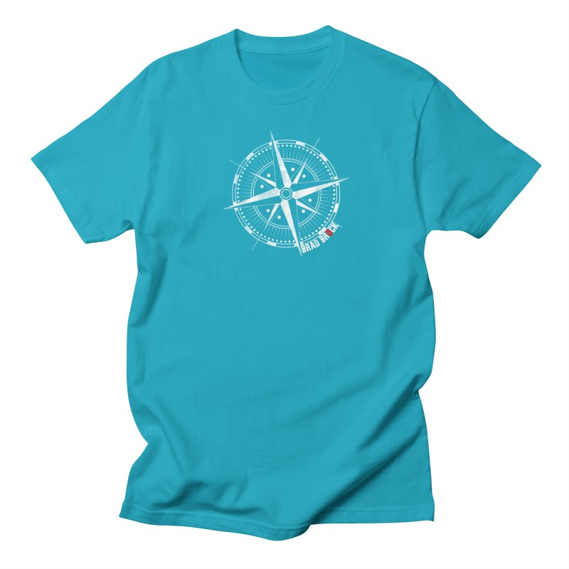 Nauti Compass Shirts Men's T-Shirt by Brad Brock Official Merch