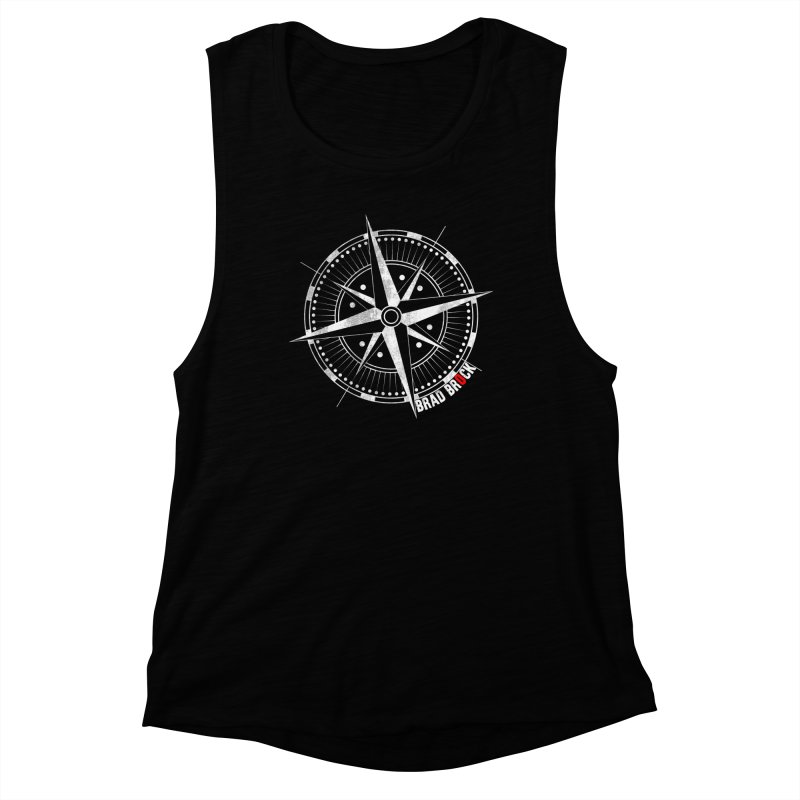 Nauti Compass Shirts Women's Muscle Tank by Brad Brock Official Merch