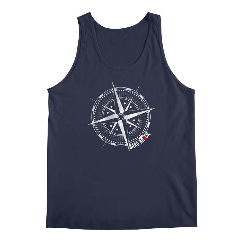 Nauti Compass Shirts Men's Tank by Brad Brock Official Merch