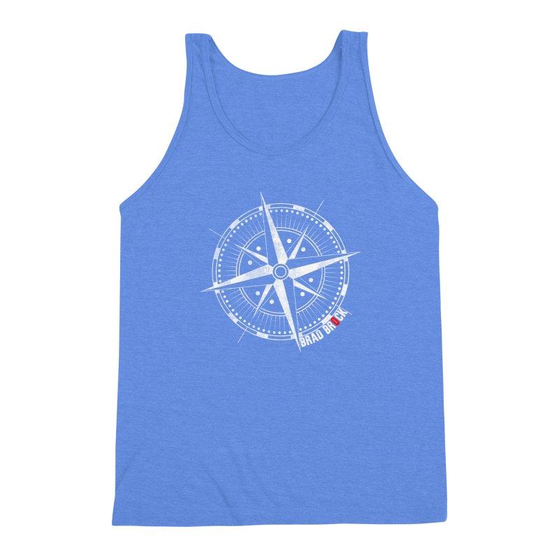 Nauti Compass Shirts Men's Triblend Tank by Brad Brock Official Merch
