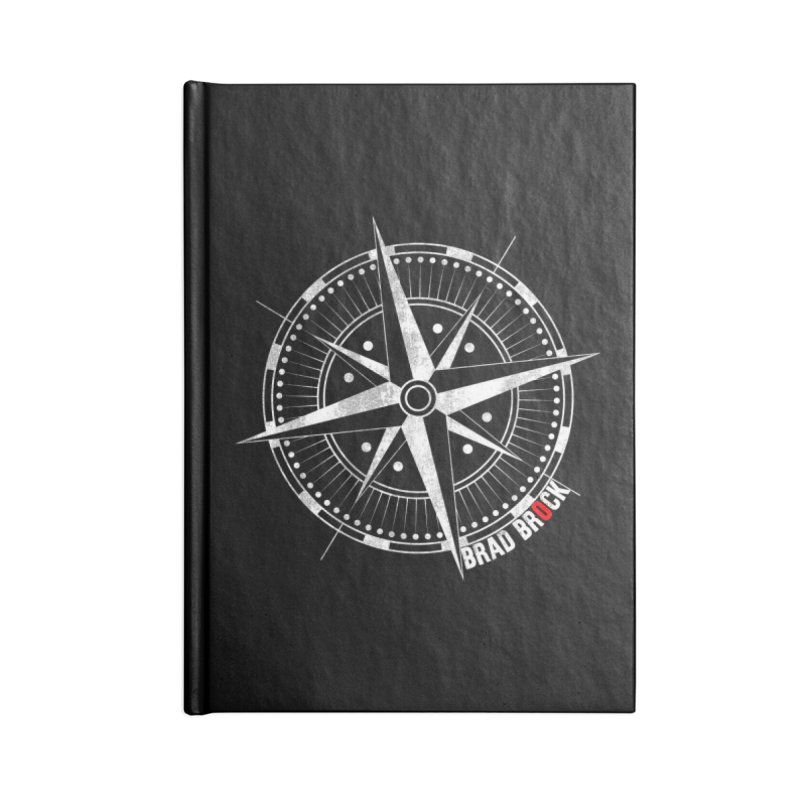 Nauti Compass Shirts Accessories Lined Journal Notebook by Brad Brock Official Merch
