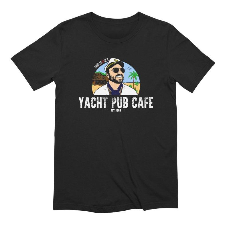 Brad Brock's Yacht Pub Cafe Men's T-Shirt by Brad Brock Official Merch