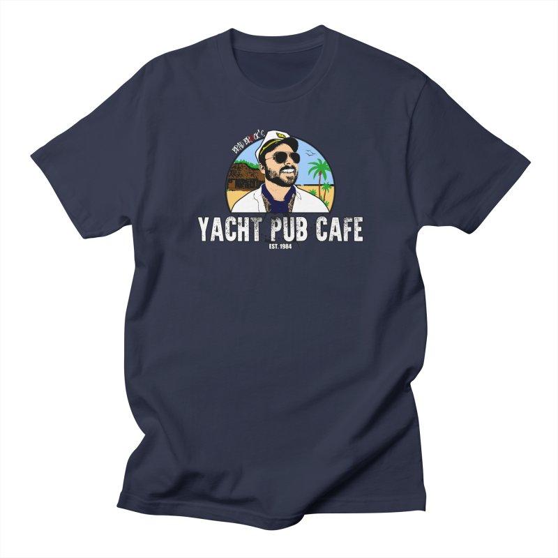 Brad Brock's Yacht Pub Cafe Men's Regular T-Shirt by Brad Brock Official Merch