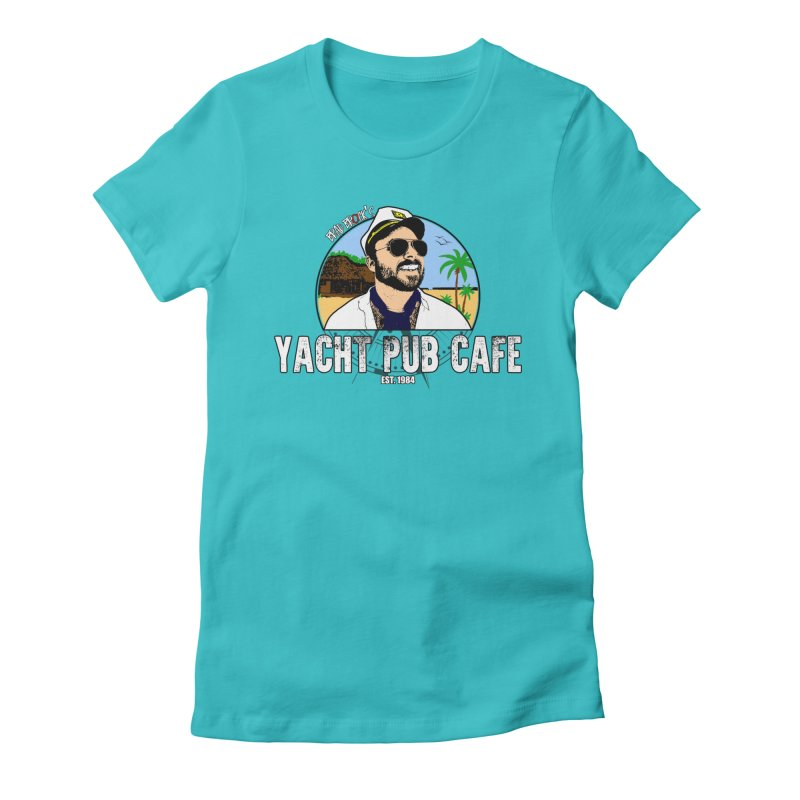 Brad Brock's Yacht Pub Cafe Women's Fitted T-Shirt by Brad Brock Official Merch