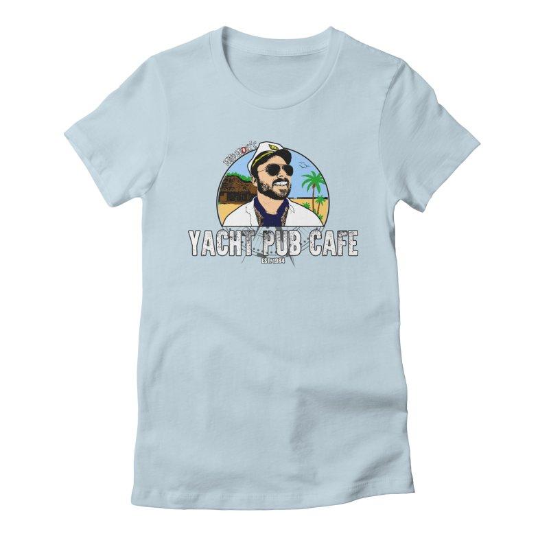 Brad Brock's Yacht Pub Cafe Women's T-Shirt by Brad Brock Official Merch
