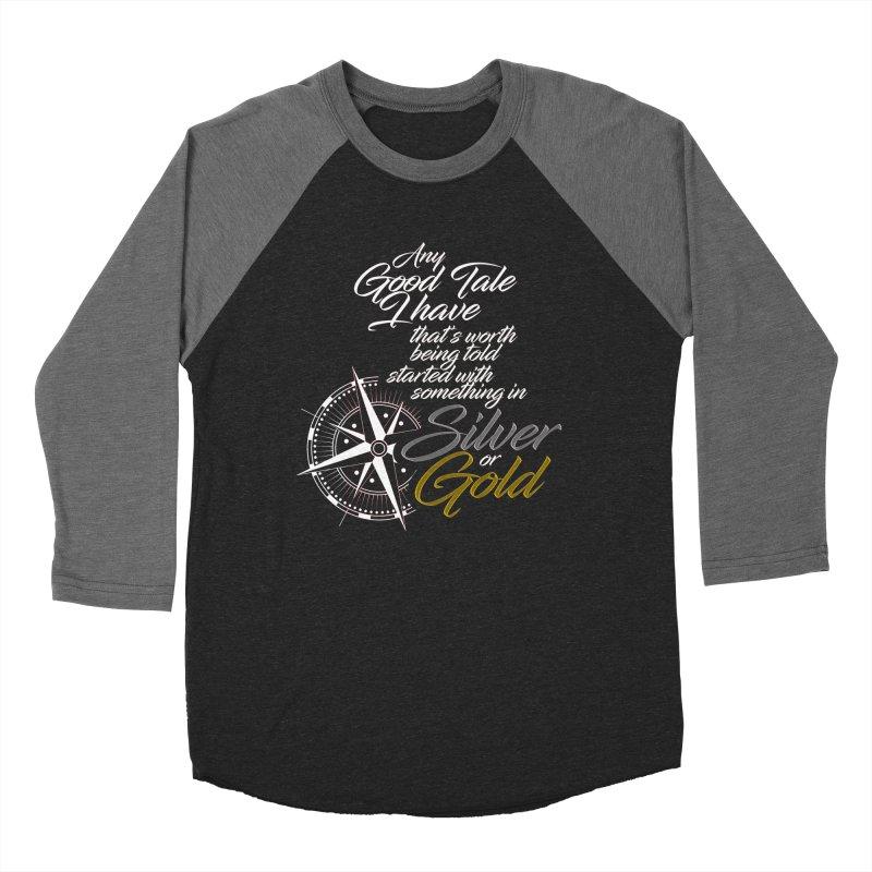 Silver & Gold Men's Longsleeve T-Shirt by Brad Brock Official Merch