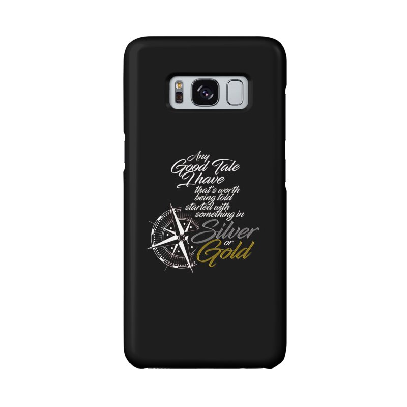 Silver & Gold Accessories Phone Case by Brad Brock Official Merch