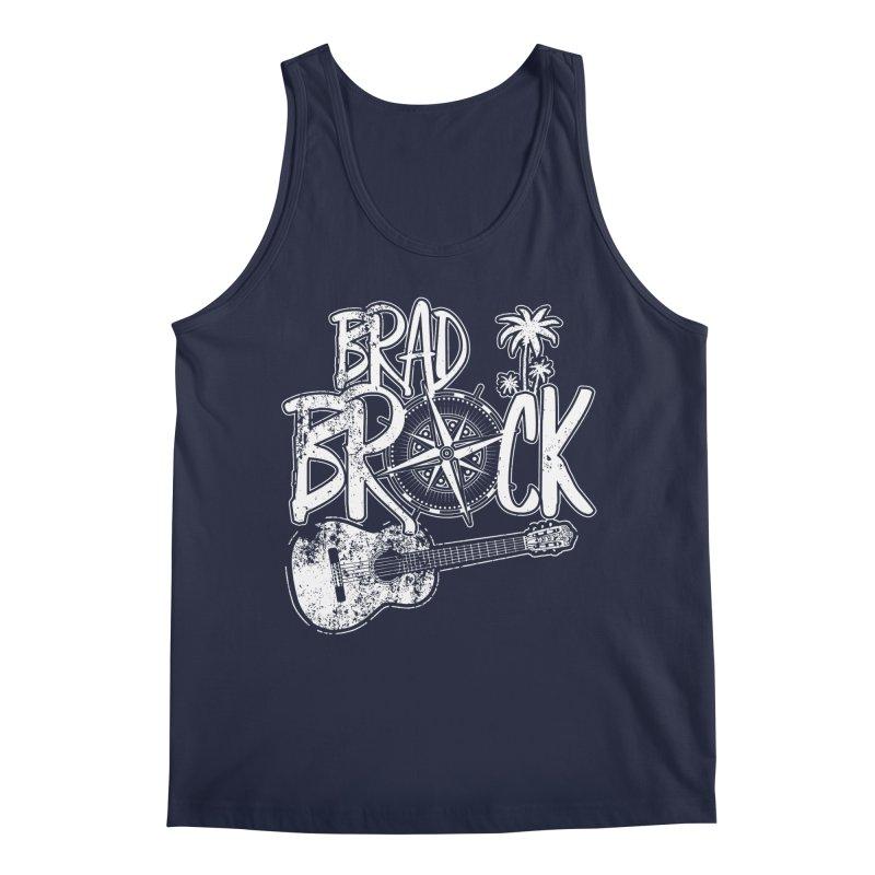 Brad Brock Guitar Dark Fabric Men's Tank by Brad Brock Official Merch
