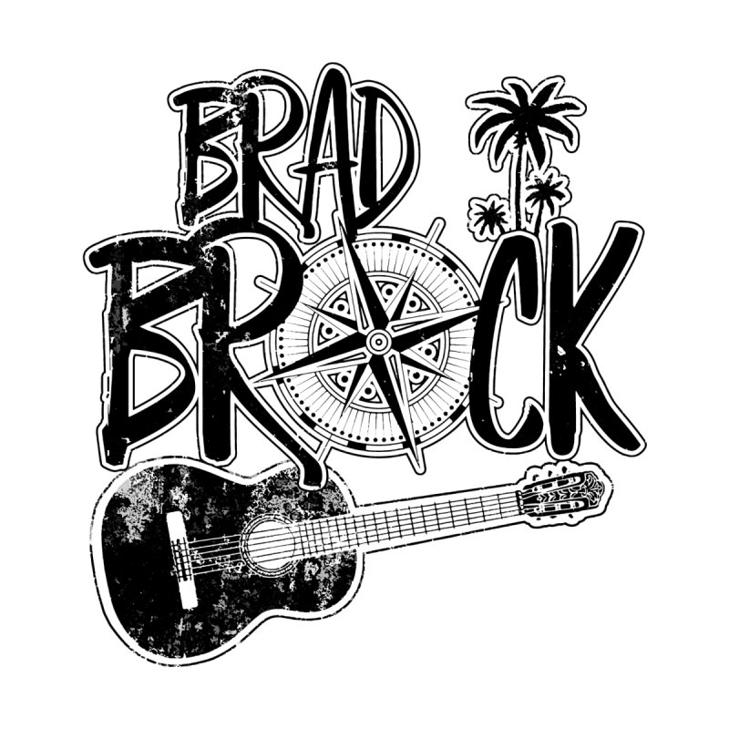 Brad Brock Guitar Light Fabric Men's V-Neck by Brad Brock Official Merch