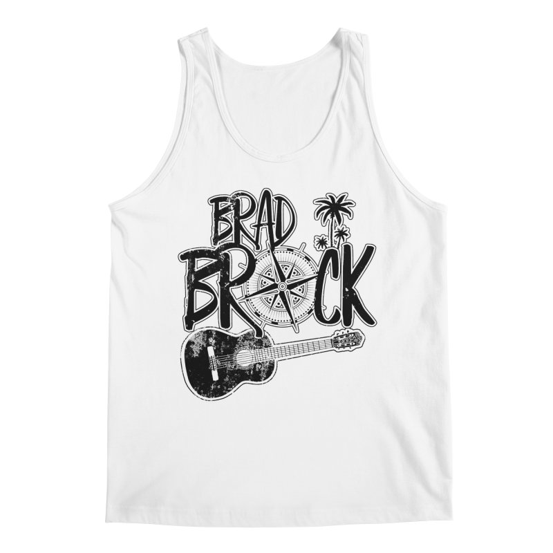 Brad Brock Guitar Light Fabric Men's Tank by Brad Brock Official Merch