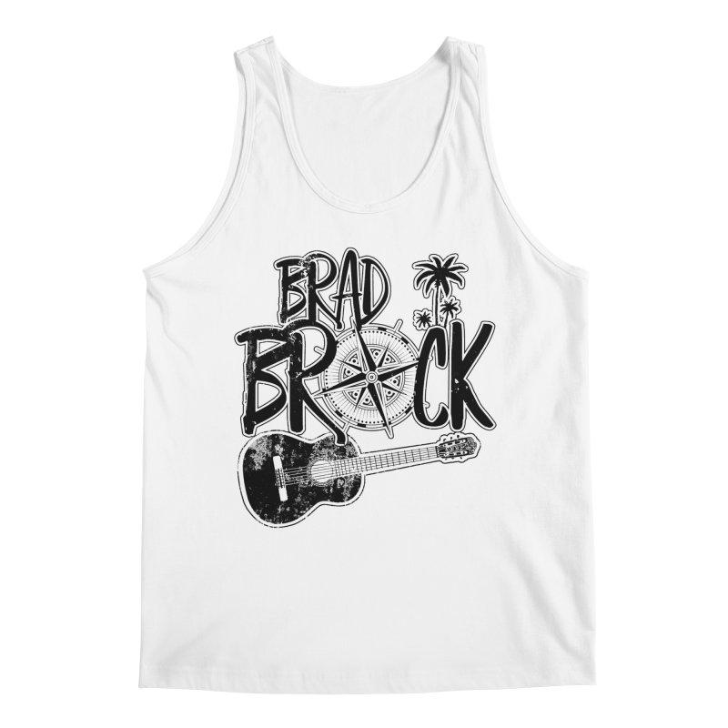 Brad Brock Guitar Light Fabric Men's Regular Tank by Brad Brock Official Merch