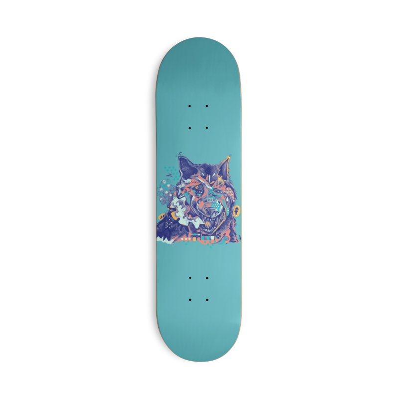 A Smell of Color Accessories Skateboard by Brad Leiby Art