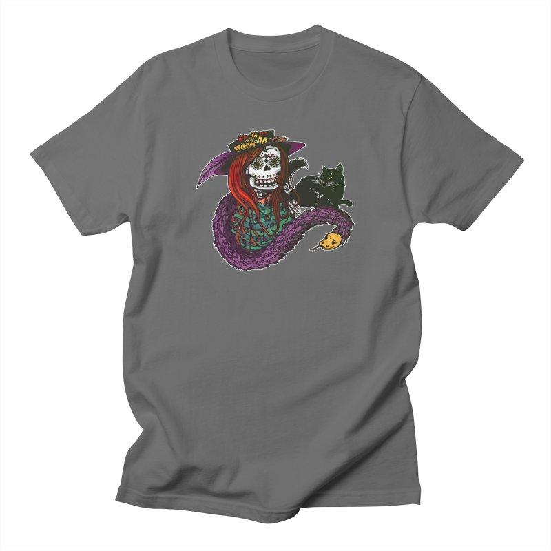 La Calavera Catrina Men's T-Shirt by Brad Leiby Art