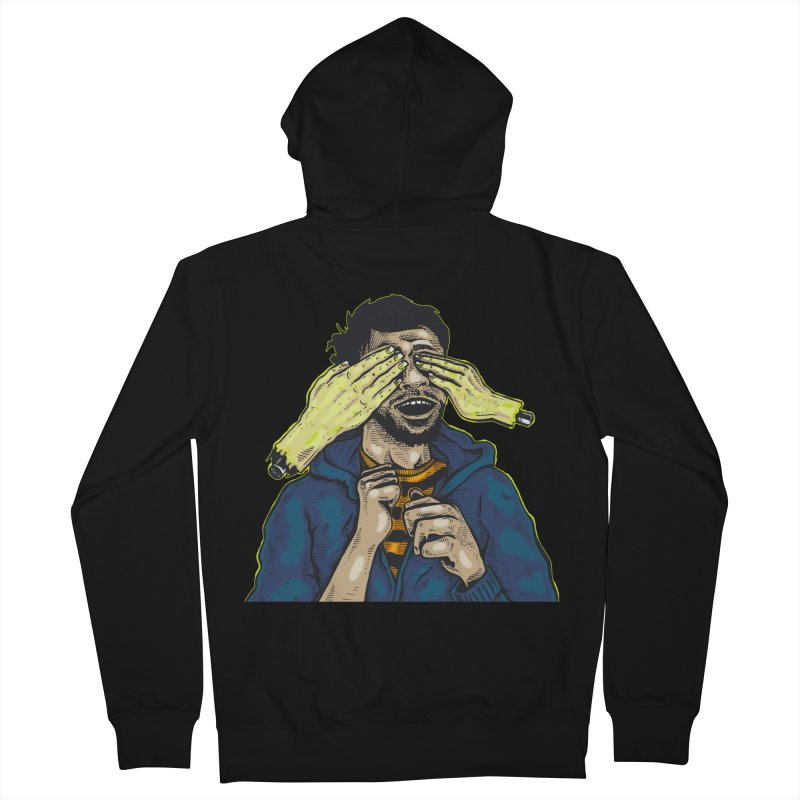 Guess Who Women's Zip-Up Hoody by Brad Leiby Art