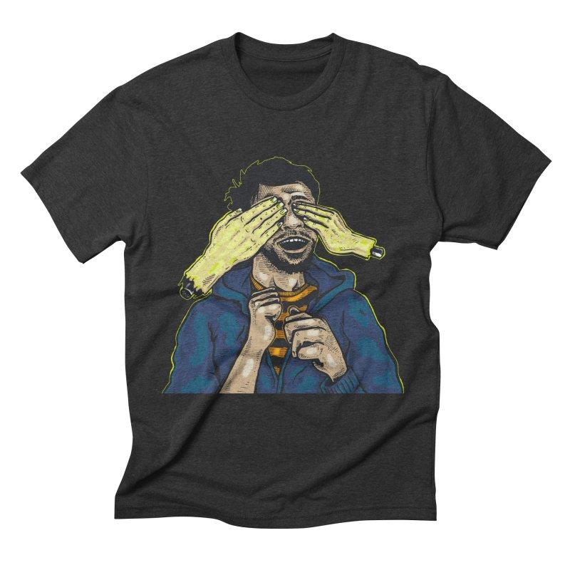 Guess Who Men's T-Shirt by Brad Leiby Art