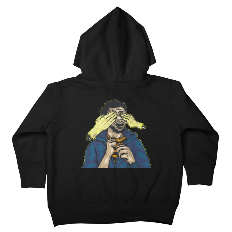 Guess Who Kids Toddler Zip-Up Hoody by Brad Leiby Art