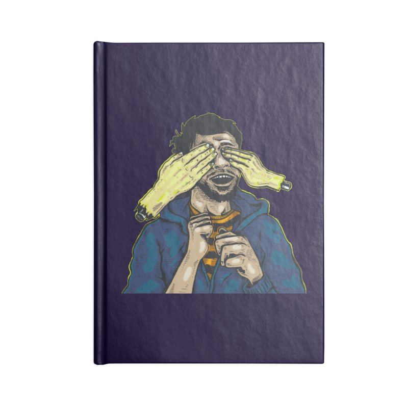 Guess Who Accessories Notebook by Brad Leiby Art