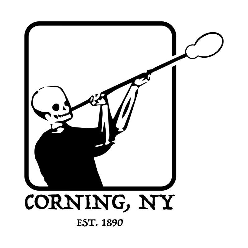 Skeleton Joe Corning NY Accessories Notebook by Brad Leiby Art