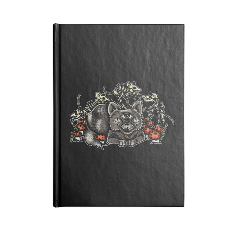 When The Cats Away Accessories Notebook by Brad Leiby Art