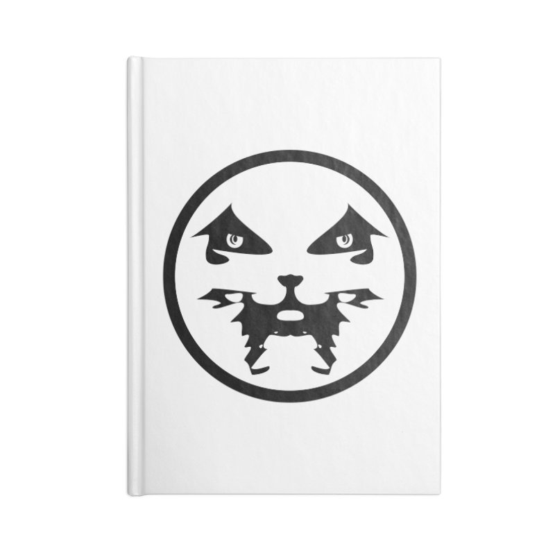 Good Lookout symbol round Accessories Notebook by Brad Leiby Art