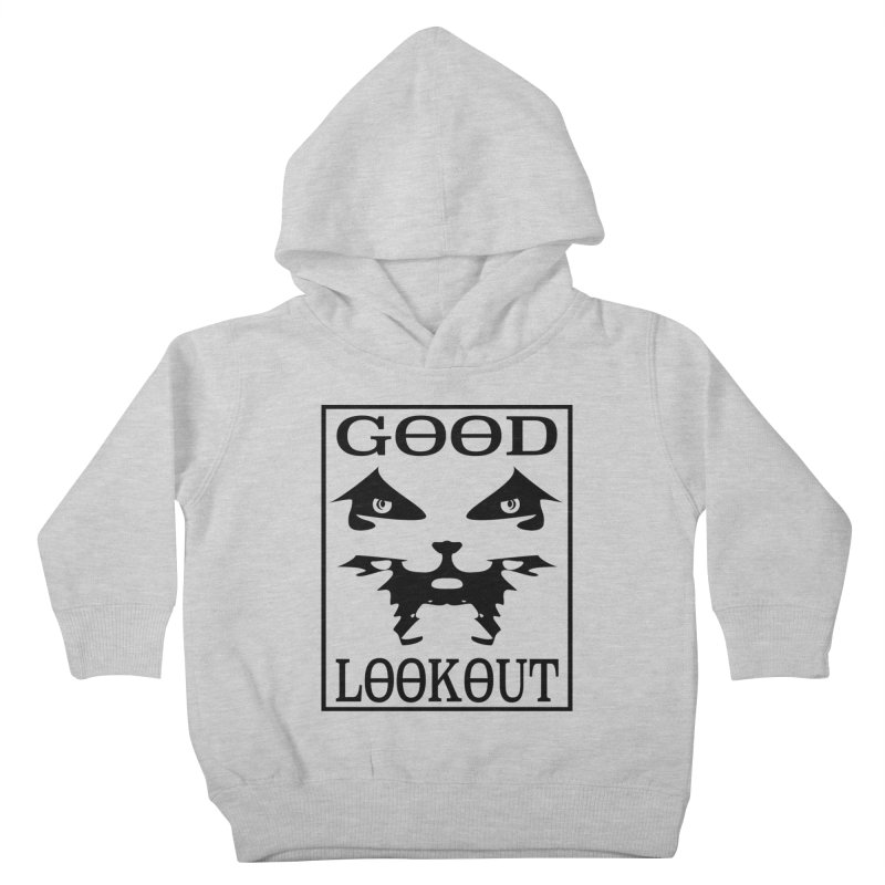 Good Lookout Dani Face and Text Kids Toddler Pullover Hoody by Brad Leiby Art