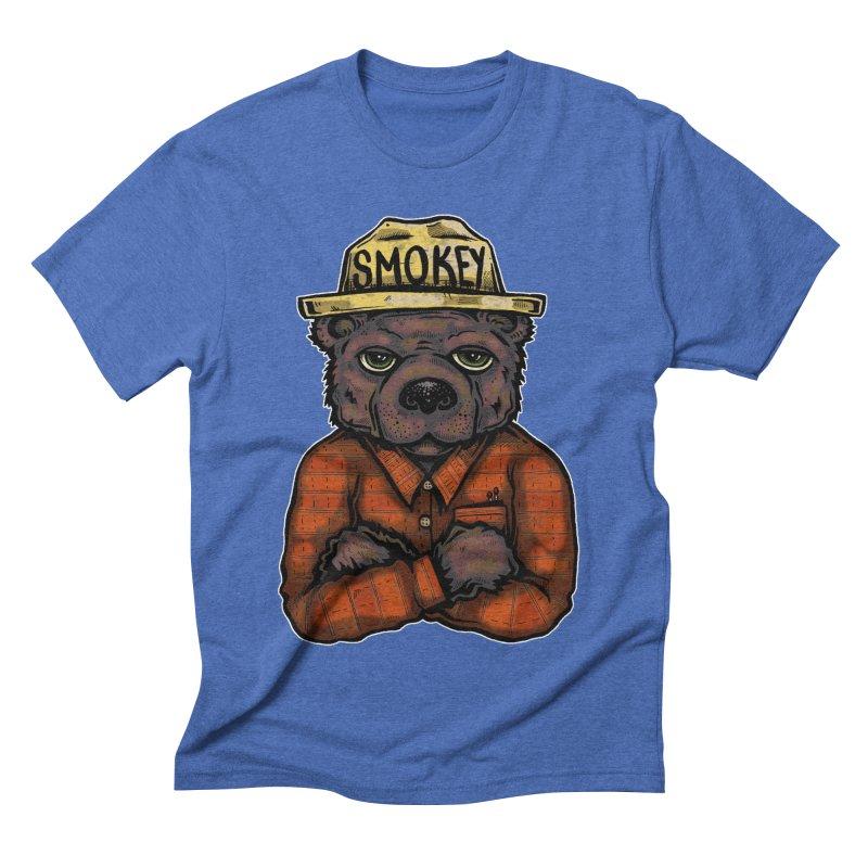 Smokey Men's T-Shirt by Brad Leiby Art