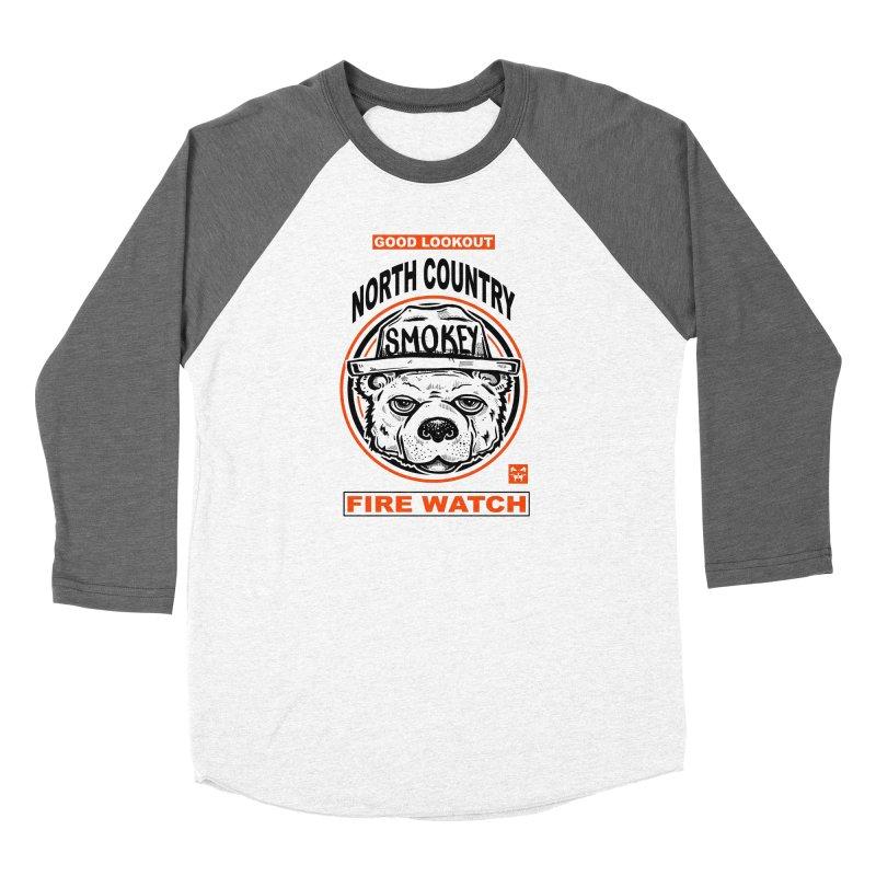 North Country Fire Watch Men's Longsleeve T-Shirt by Brad Leiby Art