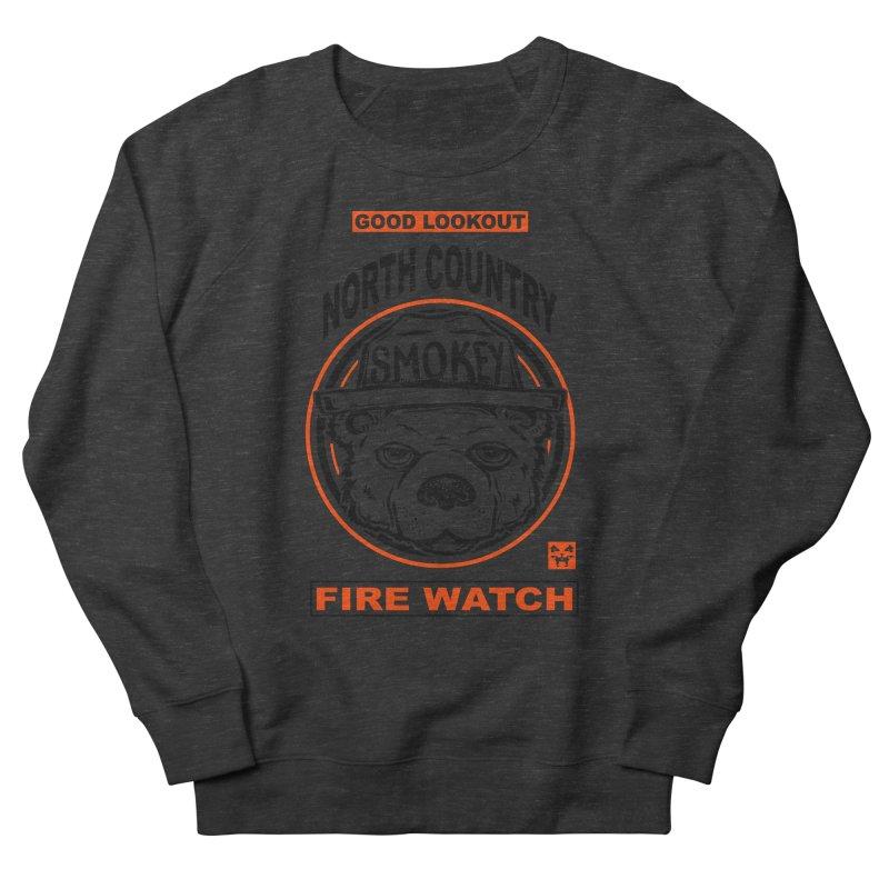 North Country Fire Watch Men's Sweatshirt by Brad Leiby Art