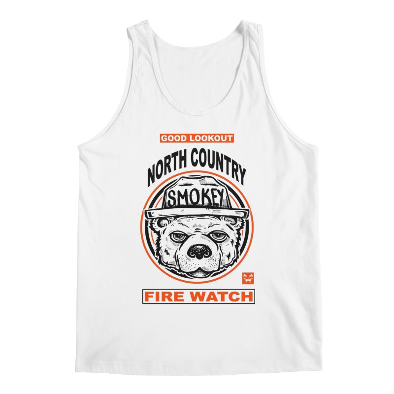 North Country Fire Watch Men's Tank by Brad Leiby Art