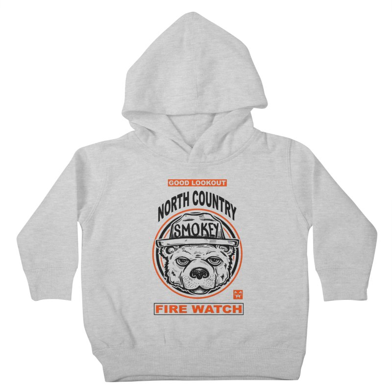 North Country Fire Watch Kids Toddler Pullover Hoody by Brad Leiby Art