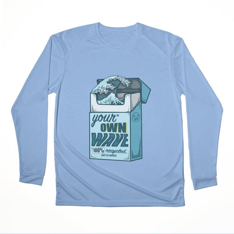 Your Own Wave Women's Longsleeve T-Shirt by Brad Leiby Art