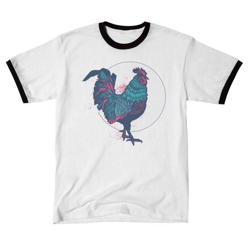 ROOSTER Splatter Women's T-Shirt by Brad Leiby Art