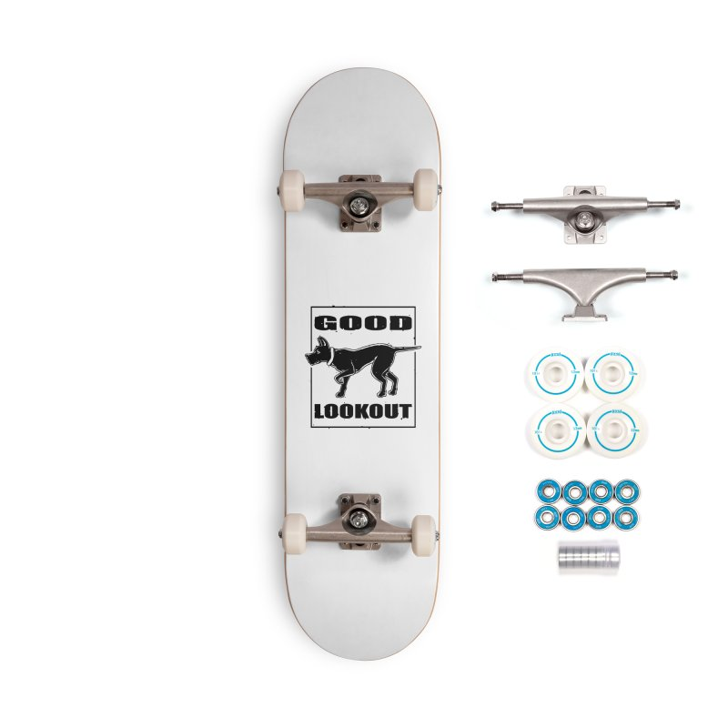 Pointer Accessories Skateboard by Brad Leiby Art