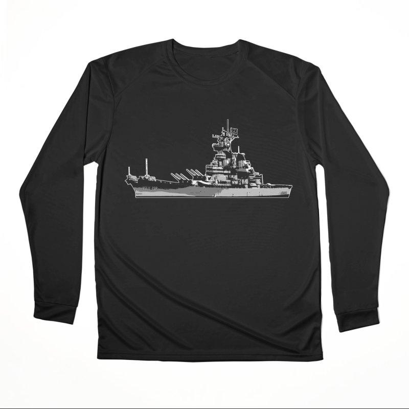 USS K-POP Women's Longsleeve T-Shirt by Brad Leiby Art