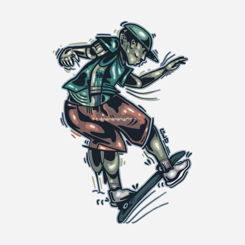Freestyle Women's Zip-Up Hoody by Brad Leiby Art