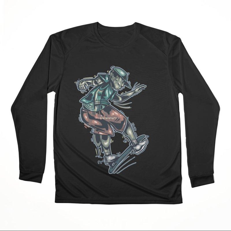 Freestyle Women's Longsleeve T-Shirt by Brad Leiby Art