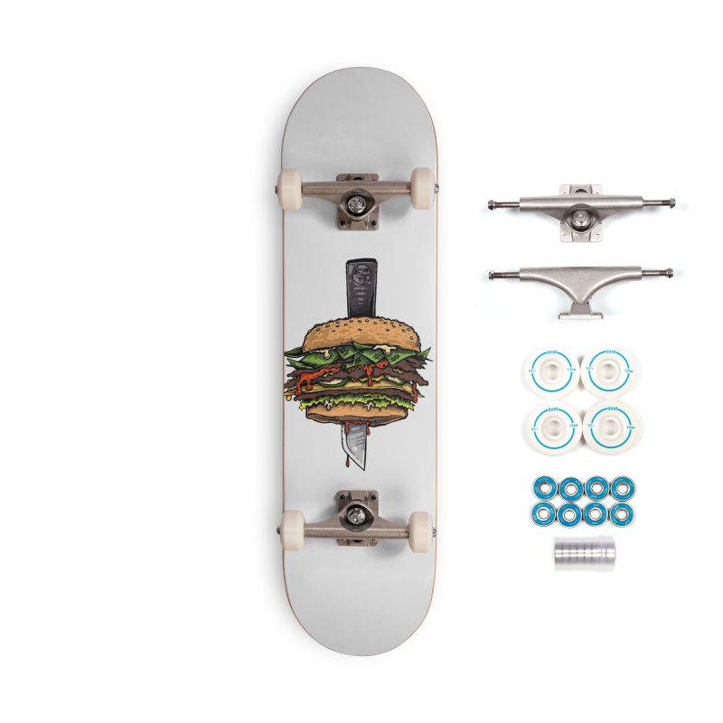Stack Accessories Skateboard by Brad Leiby Art