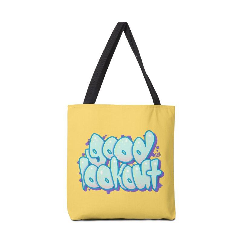 Good Lookout Graff Accessories Bag by Brad Leiby Art