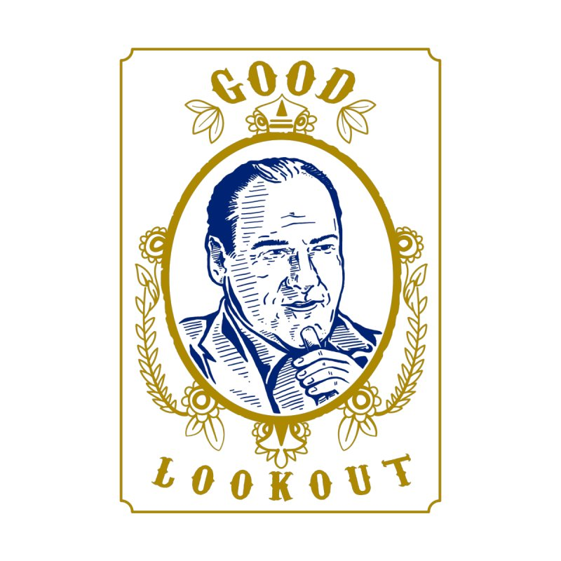 Soprano Smokes Men's T-Shirt by Brad Leiby Art