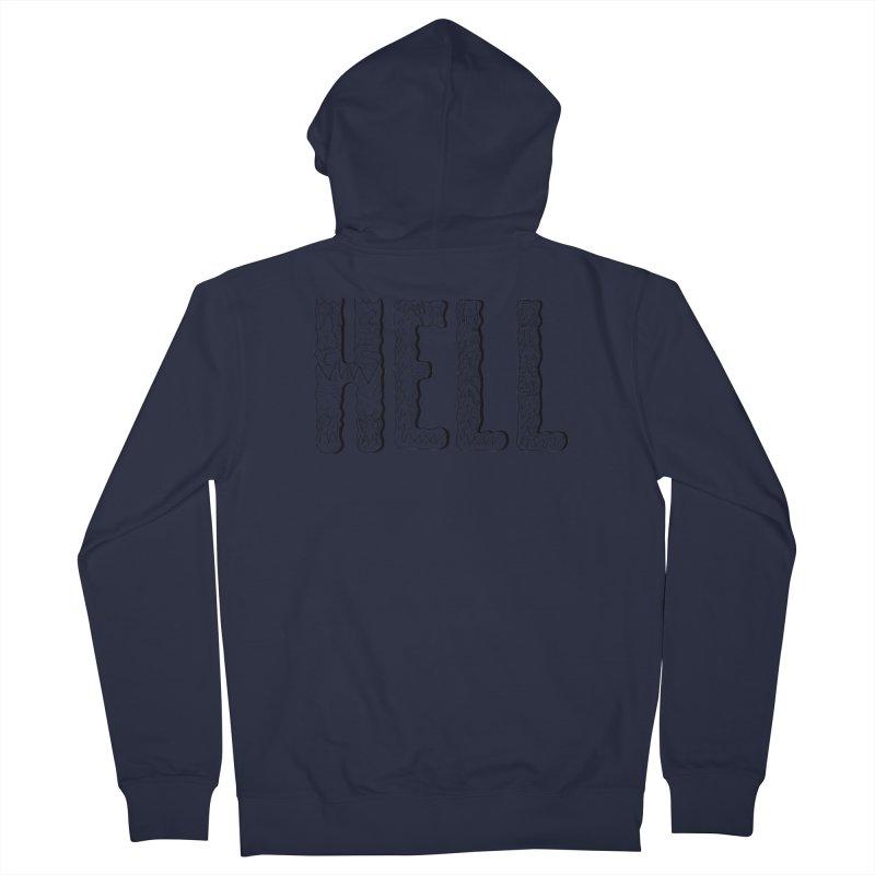 Hell Men's Zip-Up Hoody by edulobo's Artist Shop