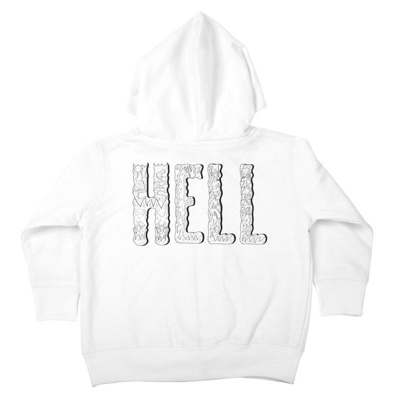 Hell Kids Toddler Zip-Up Hoody by edulobo's Artist Shop