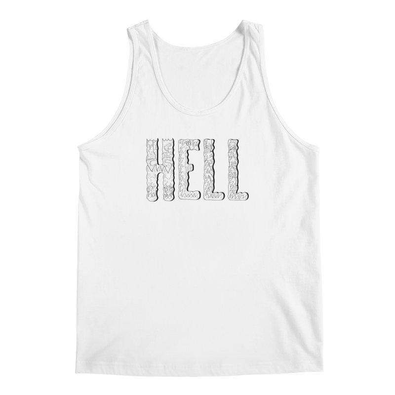 Hell Men's Tank by edulobo's Artist Shop
