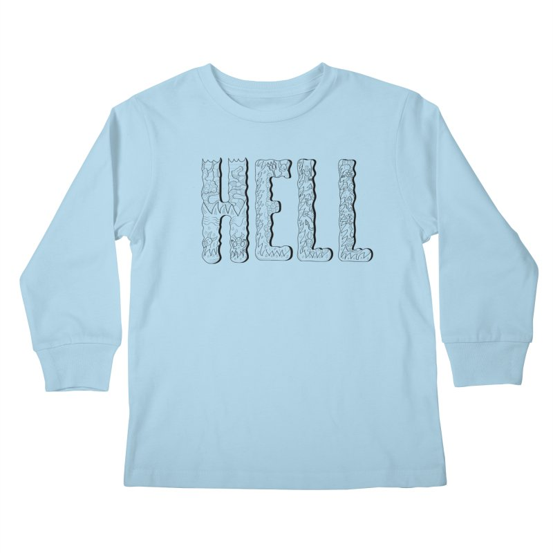 Hell Kids Longsleeve T-Shirt by edulobo's Artist Shop