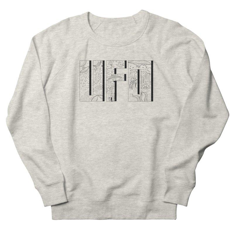 UFO Women's French Terry Sweatshirt by edulobo's Artist Shop