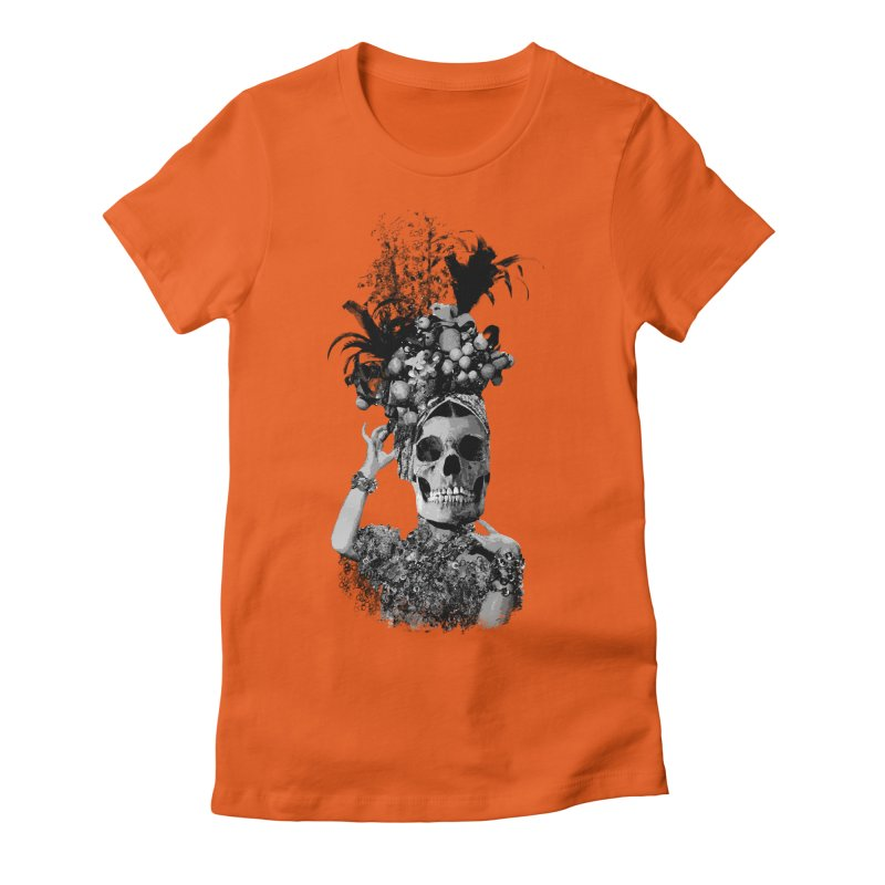 Carnival Women's Fitted T-Shirt by edulobo's Artist Shop