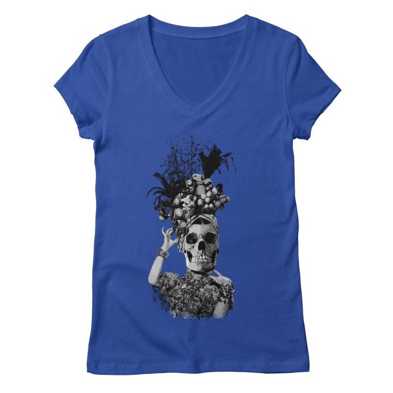 Carnival Women's V-Neck by edulobo's Artist Shop